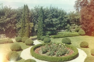 Middes FR, 1969 - Jardin