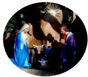 Crèche Noël Develier